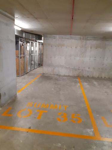 Lock up garage parking on Brodie Spark Dr in Wolli Creek