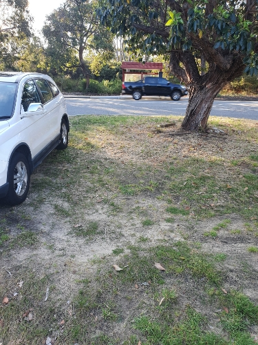 Perfect parking space for the train or bus in Subi