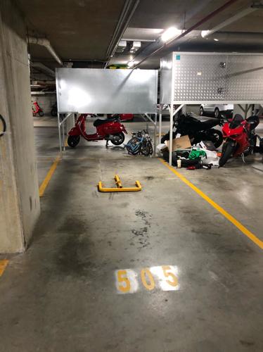 Lock up garage parking on Jaques Ave in Bondi Beach