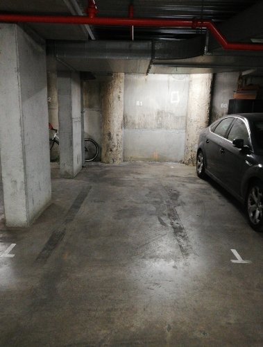 Undercover parking on Liverpool Street in Melbourne Victoria