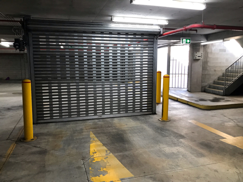 2 of 7 CAR PARK SPACES AVAILABLE AT             ALDI Underground Secure CarPark