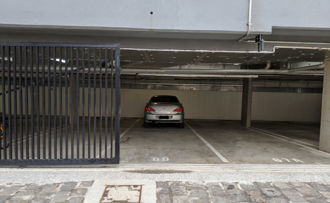 Indoor lot parking on Manningham Street in Parkville Victoria