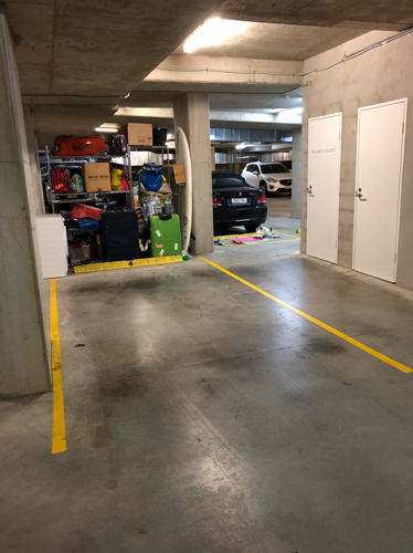 Indoor lot parking on Curlewis St in Bondi Beach