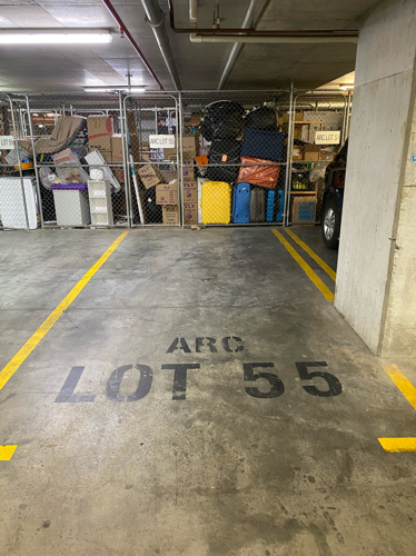 Car parking spot in Wolli Creek
