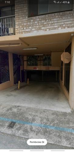 Lock up garage parking on Buckingham St in Surry Hills