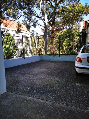 Outside parking on Darley St in Darlinghurst