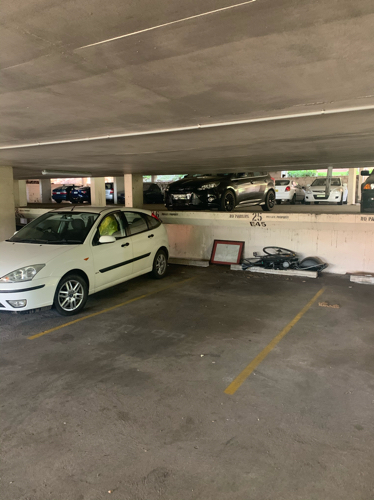 Indoor lot parking on St Marks Rd in Randwick