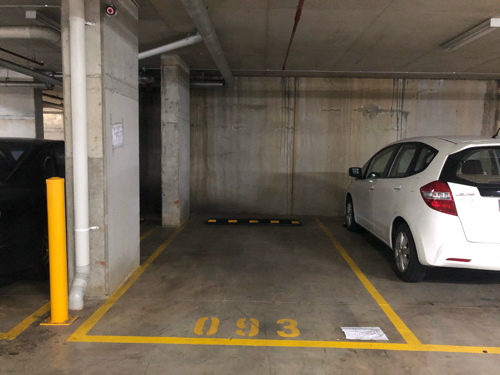 Fully secured 24 hour access indoor car parking space available for rent in Homebush area
