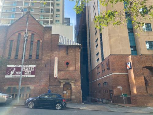 parking on George St in Brisbane City