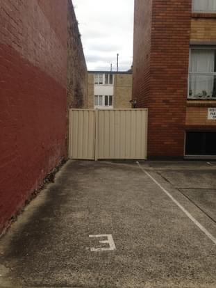 Outside parking on Marmion Street in Camperdown New South Wales