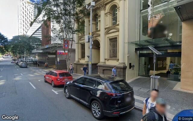 parking on Charlotte St in Brisbane City