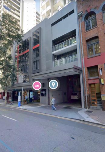 Indoor lot parking on Charlotte St in Brisbane City
