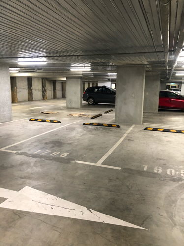 Super secure space in under ground car park.  (1.5km from CBD) positioned just off St.Kilda road.