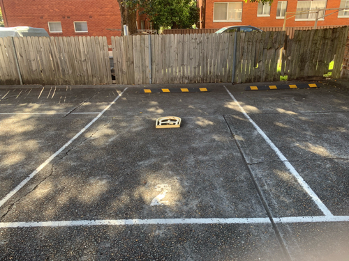 Easy access parking space which would be your own.