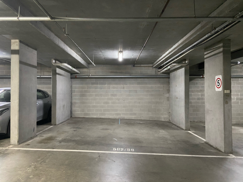 Indoor lot parking on River Street in South Yarra Victoria