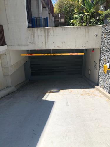 Underground secure parking in Crows Nest