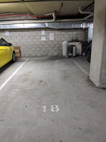 Indoor lot parking on Brunswick Street in Fortitude Valley Queensland