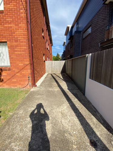 Driveway parking on Dine St in Randwick