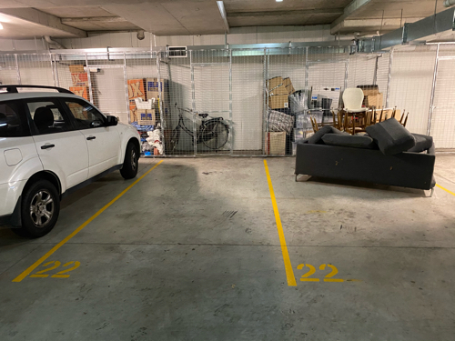 Private Property Garage Parking Space located in summer hill