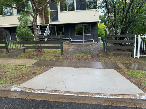 Dutton Park - easy access, off street within the parking control precinct.
