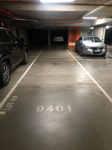 Underground fob secure car space Pyrmont right next to Star Casino Jones Bay road entrance.