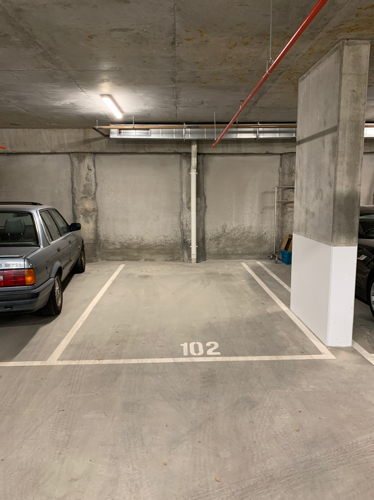 Drive straight into this large underground car space!