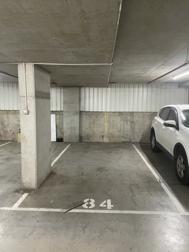 Indoor secured carpark, only 2 minute walk from Mascot station