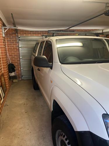 Secure home garage parking