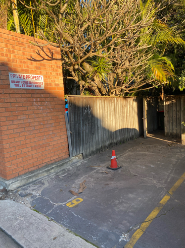 Secure Parking spot available in the heart of Randwick, located conveniently at the Spot