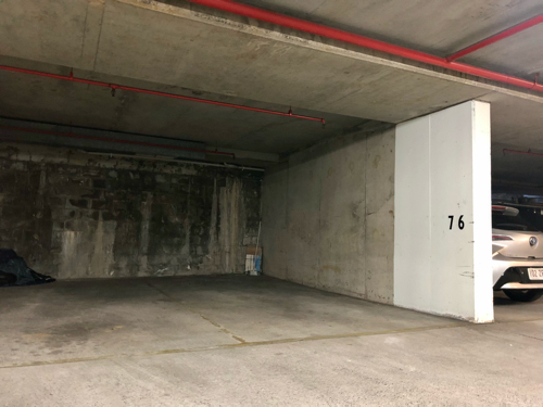 Secure, Underground Car Park with 24/7 Remote Access