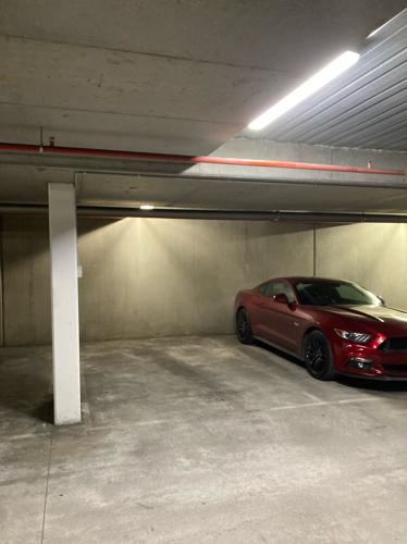 Secure underground car park in Brunswick right near Sydney Rd
