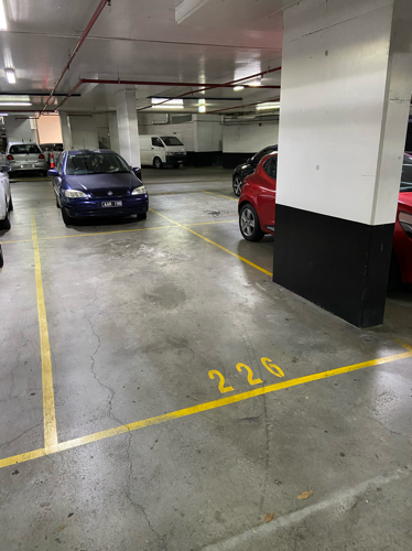 Secure parking space - Waterloo from July 7