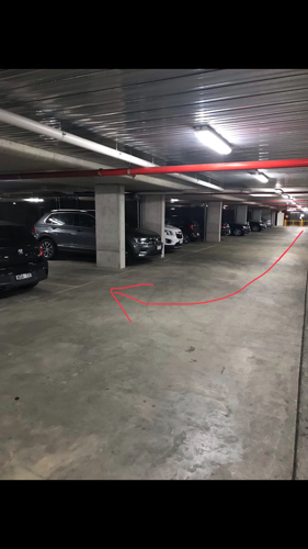 Great parking right next to the Alfred hospital