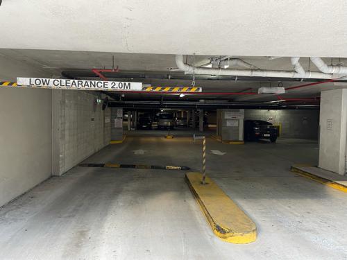 Secure underground car park