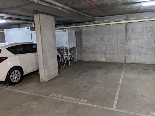Underground carpark in Southbank near VCA