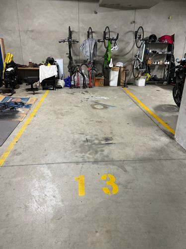 Underground parking in Bellevue Hill