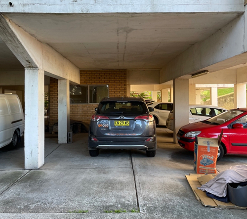 Undercover car space located in North Bondi